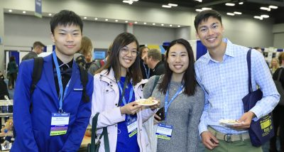 Students at AAAS Meeting Austin TX